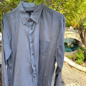 John Varvatos Size Large mens Dress Shirt